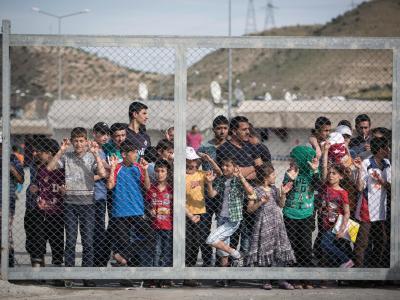 T�rkisches Fl�chtlingslager