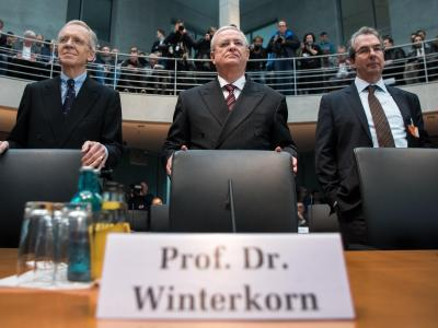 Winterkorn vor Abgas-Untersuchungsausschuss