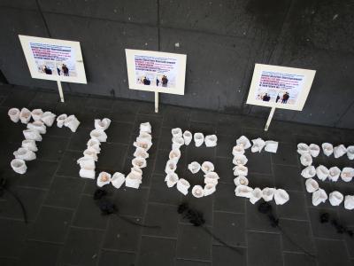 Das Landgericht Darmstadt hatte Sanel M. im Juni 2015 wegen Körperverletzung mit Todesfolge zu drei Jahren Jugendstrafe verurteilt. Foto. Fredrik von Erichsen Foto: Fredrik von Erichsen
