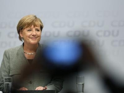 Sechs Wochen vor der Bundestagswahl kam Bundeskanzlerin Merkel zum Wahlkampfauftakt nach Dortmund. Foto: Ina Fassbender