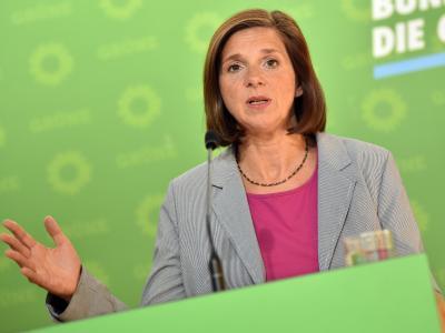 Grünen-Spitzenkandidatin Katrin Göring-Eckardt fordert eine Senkung der Mehrwertsteuer auf Reparaturarbeiten. Foto: Britta Pedersen
