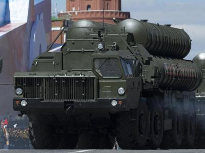 Raketensystem des Typs «S-400 Triumph» bei einer Parade auf dem Roten Platz in Moskau. Foto: Ivan Sekretarev