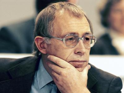 Heiner Geißler, aufgenommen im November 1981 bei einem CDU-Bundesparteitag in Hamburg. Foto: Werner Baum