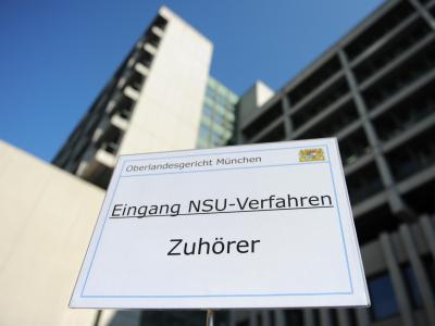 ImNSU-Prozess muss nun ein dritter Angeklagter inUntersuchungshaft. Foto: Andreas Gebert