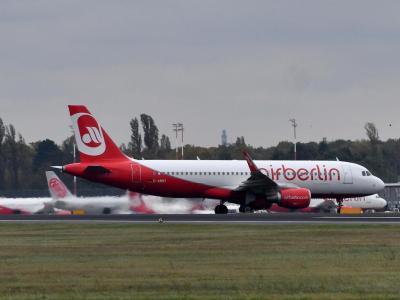 Air Berlin wird voraussichtlich ab Ende Oktober nicht mehr unter eigener Flugnummer fliegen. Foto: Paul Zinken