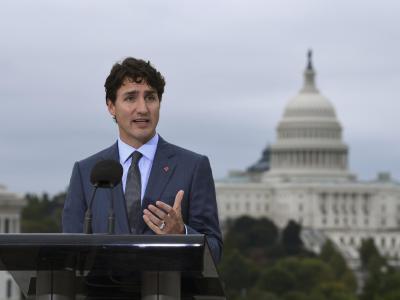 Der kanadische Premierminister ist zuversichtlich, dass das Handelsabkommen eine Zukunft hat. Foto: Susan Walsh