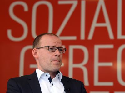 Matthias Höhn ist seit 2012 Bundesgeschäftsführer der Linken. Nun gibt er seinen Posten ab. Foto: Maurizio Gambarini/Archiv