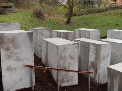 Nachbildung des Berliner Holocaust-Mahnmals