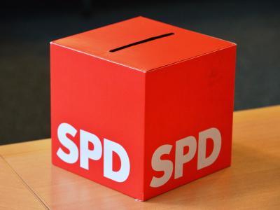 SPD-Wahlurne