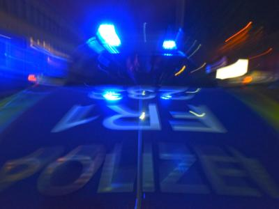 Polizeifahrzeug in Freiburg. Foto:Patrick Seeger