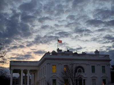 Das Weiße Haus in Washington auf. Foto: Pablo Martinez Monsivais
