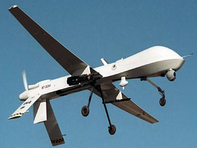 Waffe zum gezielten Töten von Terroristen: Eine ferngesteuerte Drohne der US-Air-Force