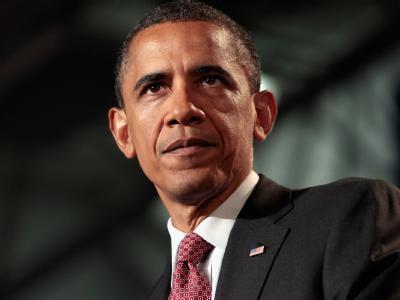 Ein paar graue Haare - andere körperliche Spuren scheint das Amt bei US-Präsident Obama bislang nicht hinterlassen zu haben. Archivfoto: Chip Somodevilla