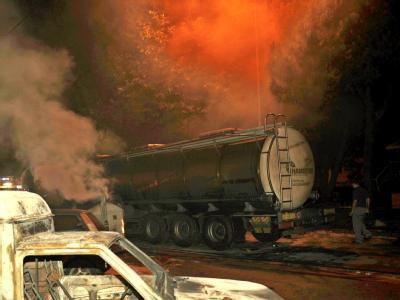 Am Bahnhof von Viareggio explodiert ein mit Flüssiggas beladener Güterwagen.