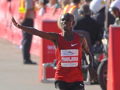 Der Marathon-Olympiasieger Samuel Wanjiru ist tot.
