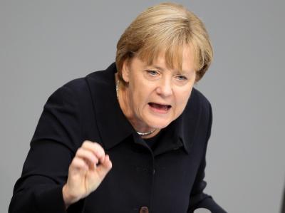 Bundeskanzlerin Merkel: «Deutschlands Zukunft ist untrennbar mit der Zukunft Europas verbunden.»