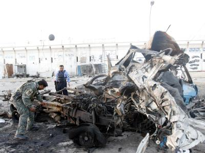 Bombenanschlag in Falludscha