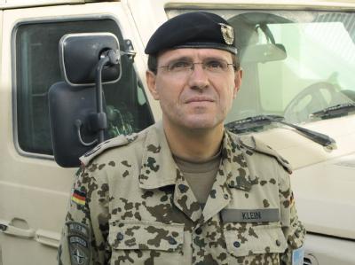 Oberst Georg Klein gab als Kommandeur des Bundeswehr-Lagers in Kundus den Befehl zum Luftangriff auf die gekaperten Tanklastzüge.