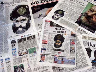 Die Mohammed-Karikaturen riefen in weiten Teilen der islamischen Welt heftige Proteste hervor.