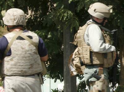 Blackwater-Mitarbeiter in Bagdad (Archivbild).