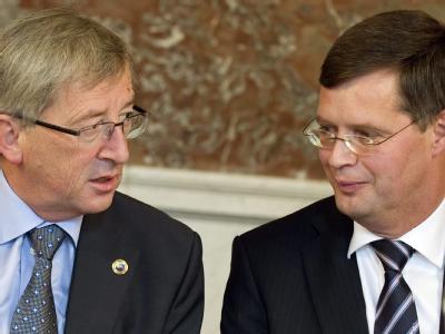 Jean-Claude Juncker und Jan Peter Balkenende