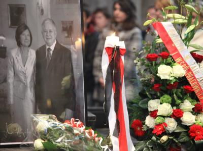 Trauer in Polen
