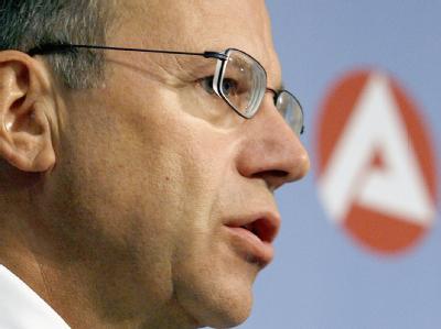 Der Vorstandsvorsitzende der Bundesagentur für Arbeit (BA), Frank-Jürgen Weise. (Archivbild vom 31.07.2007)