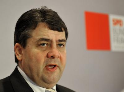 Der Parteivorsitzende der SPD, Sigmar Gabriel.