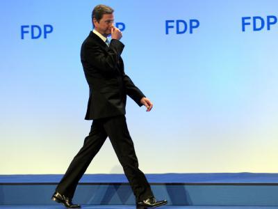 Bundesaußenminister Guido Westerwelle wird im Mai nicht mehr als Vorsitzender antreten.