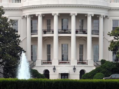 Das Weiße Haus in Washington: Ein Teil wurde vorübergehend evakuiert (Archivbild).