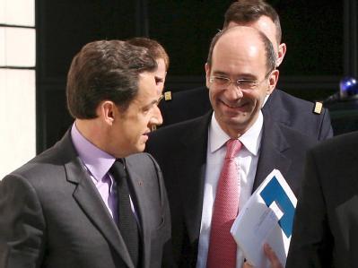 Nicolas Sarkozy und Eric Woerth