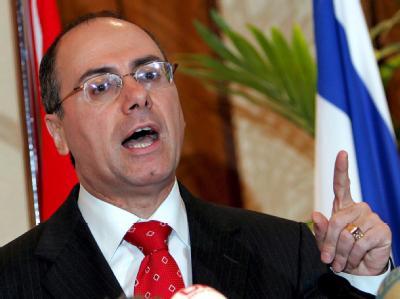 Israels stellvertretender Ministerpräsident Silvan Schalom hält die Durchfahrt der iranischen Schiffe für eine «Provokation». (Archivbild)