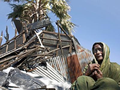 Sturmopfer in Bangladesch