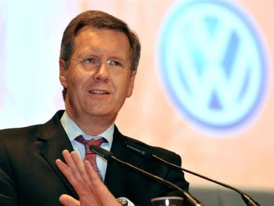 Wulff bei Volkswagen