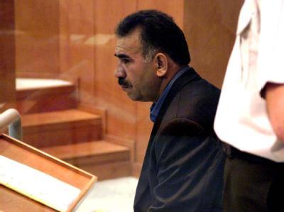 Der inhaftierte Chef der verbotenen Kurdischen Arbeiterpartei PKK, Abdullah Öcalan. (Archivbild)