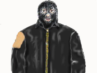 Mit dieser Phantombildzeichnung wurde jahrelang nach dem «Maskenmann» gesucht. Foto: Ingo Wagner
