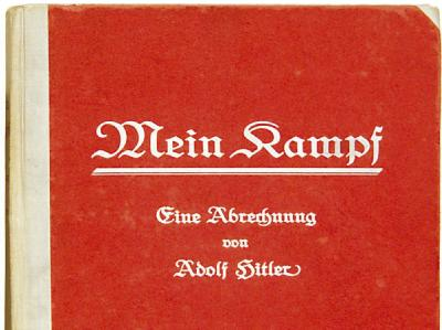 Gibt es Hitlers «Mein Kampf» bald an deutschen Kiosken?. Foto: Ho/Archiv