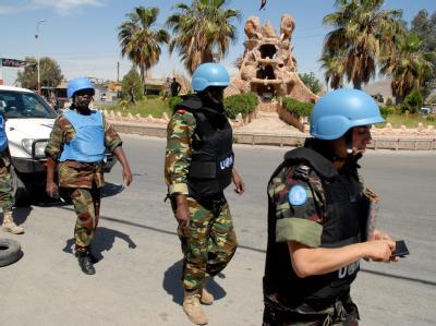 Die UN-Beobachter in Syrien erfuhren durch Medienberichte von dem Massaker in der Provinz Hama. Foto: SANA / Archiv