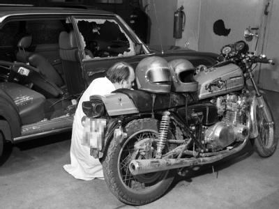 Motorrad der Buback-Mörder