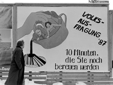 1987 zog die Volkszählung eine Welle von Protesten und Boykottaufrufen nach sich.
