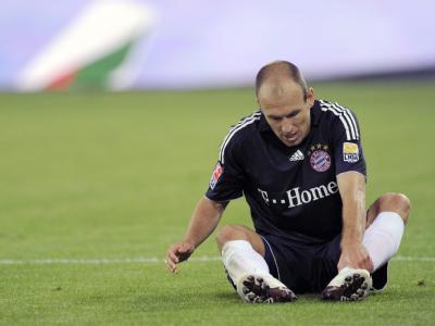 Bayern-Stürmer Arjen Robben spielte trotz Muskelriss bei der WM in Südafrika.
