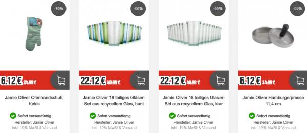 Top12: stylische Jamie Oliver Küchenhelfer & Utensilien
