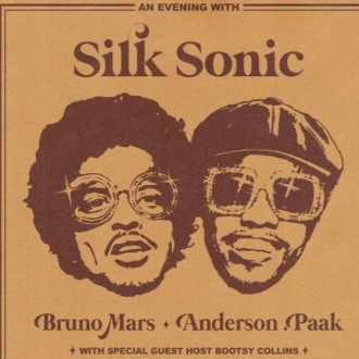 Album-Cover von Silk Sonic