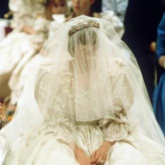 Prinzessin Diana Ihr Hochzeitskleid Bald F 252 R Jedermann