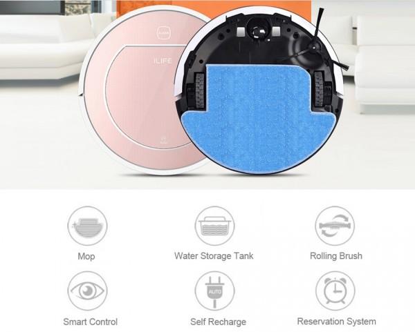 chuwi ilife v7s pro saug und wischroboter f r 140 94. Black Bedroom Furniture Sets. Home Design Ideas