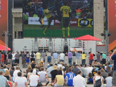 Public Viewing am Olympiastadion