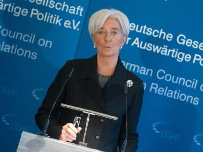 Christine Lagarde in Berlin