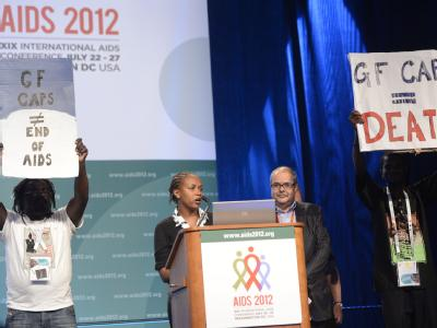 Internationale AIDS Konferenz in Washington