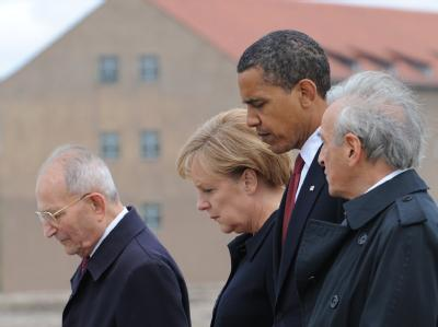Obama in Buchenwald