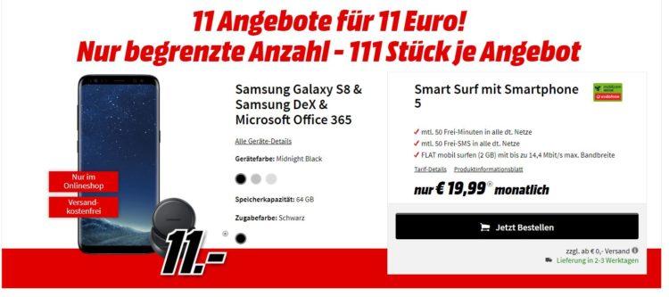 Knaller Galaxy S8 F R 530 75 Statt 535 Gratis